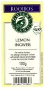 QUEENSLAND Rooibos LEMON INGWER 100 g